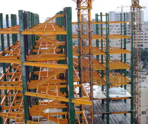 ساخت انواع سازه های فلزی و اسکلت ساختمانی