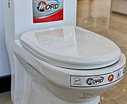 توالت فرنگی شوتینگ دار