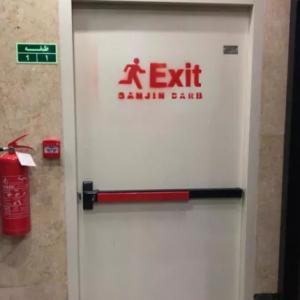 درب ضد حریق با تاییدیه آتش نشانی تک تعداد درضدحریق