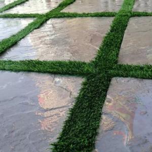 موزاییک پلیمری واش بتن سنگ فرش جدول بتنی و نرده