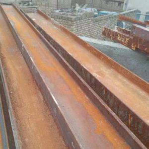 تیرآهن ۱۴و۱۸ اصفهان سنگین وزن نونو بدون استفاده