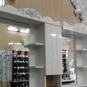 آینه باکس روشویی سایز 60 پی وی سی