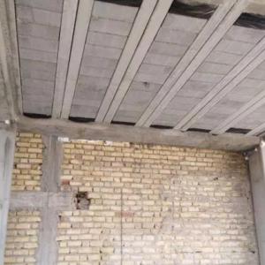قالب بندی ساختمان اسکلت بتنی