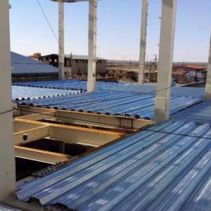 سقف عرشه فولادی اجرا نصب گلمیخ