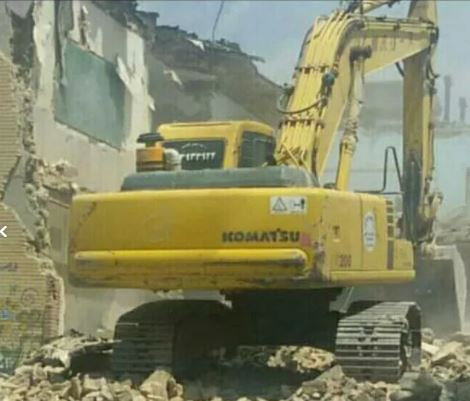 پیمانکاری تخریب ، ساختمان