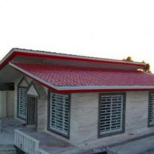 اجرای ونصب سقف های شیروانی شیبدار