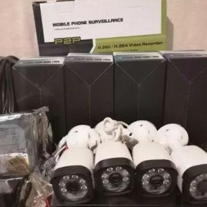 پک کامل 4 عدد دوربین مدار بسته FULL HD