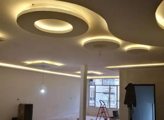 اجرای کناف ، سقف کاذب ، نقاشی ، نورپردازی