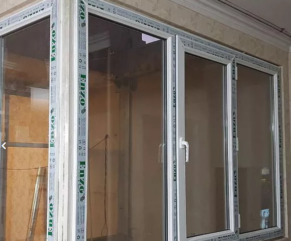 درب پنجره دوجداره upvc توری پلیسع کشویی