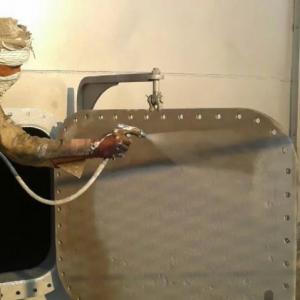 سندبلاست خشک رونگهای اپوکسی