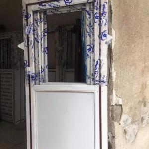 درب آلومینیومی ورق سفید