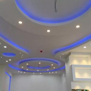 کناف-برق-نورپردازی-نقاشی-سقف کشسان