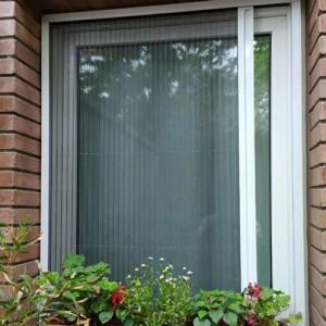 توری پلیسه ای آلومینیومی برای درب و پنجره ،upvc