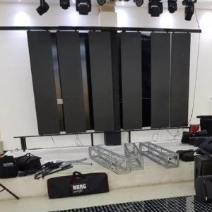 اجاره باند رقص نور سیستم صوت نورپردازی