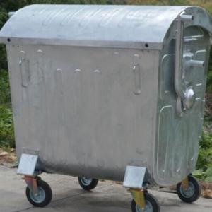 سطل زباله فلزی شهرداری