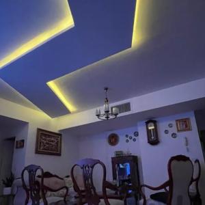کناف ایران نورپردازی سقف کاذب بدون واسطه با طراحی