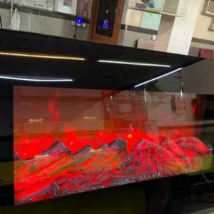 شومینه برقی گرمایشی سایز ۸۰ آپشن دار
