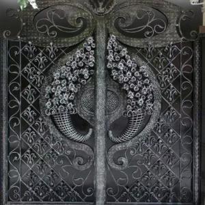 درب حیاط درب باغ فلزی آهنی،نرده پله،آلاچیق
