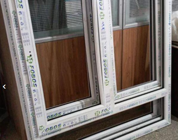 درب و پنجره یو پی وی سی شیشه دوجداره upvc