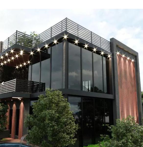 طراحی سه بعدی معماری، داخلی، نما و ویلا