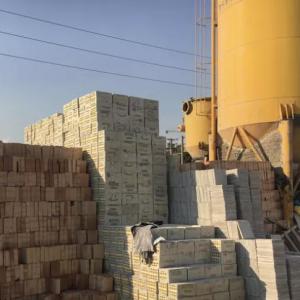 عاملیت مستقیم مصالح ساختمانی-سیمان و گچ