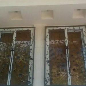 حفاظ اکاردیونی نرده پله حفاظ تراس پنجره دیوار