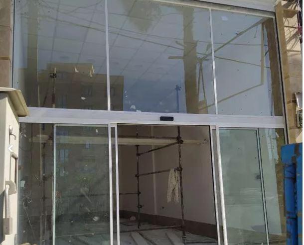 شیشه سکوریت(شیشه میرال) کرکره برقی و درب اتوماتیک