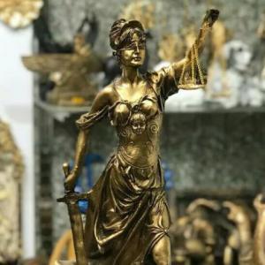 مجسمه فرشته عدالت دکوری تزیینی