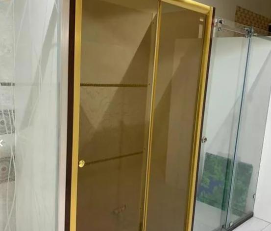 کابین دوش دوردوشی حمام شیشه ای پارتیشن