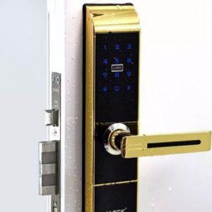 قفل و دستگیره ALOCK مدل 89P GOLD
