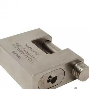 قفل کتابی تمام فولاد منیر صنعت مدل M85