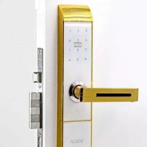 قفل و دستگیره دیجیتال ALOCK مدل 89P GOLD