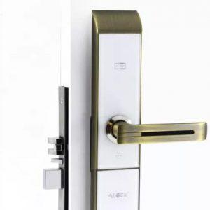 قفل دیجیتال هوشمند ALOCK مدل 89C AB(پنل سفید)