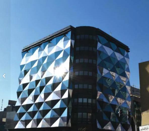 نما ی ساختمان کرتین وال طراحی اجرا