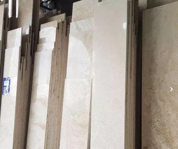 سنگ نما و کف ساختمانی ( تراورتن مرمریت )