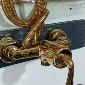 شیرالات طوفان فلز طلایی استاندارد