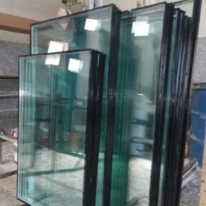 شیشه دوجداره پویا باپنج سال ضمانت تملید