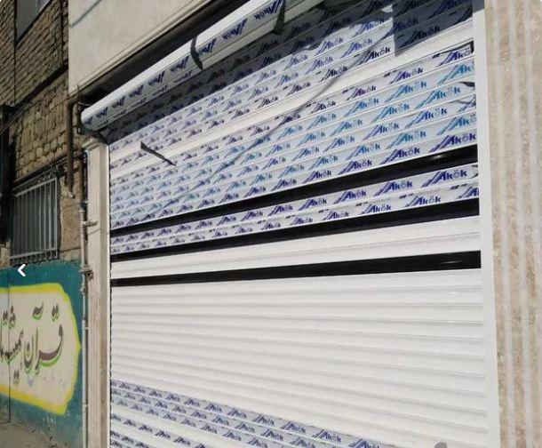 کرکره برقی جک پارکینگ درب اتومات شیشه سکوریت