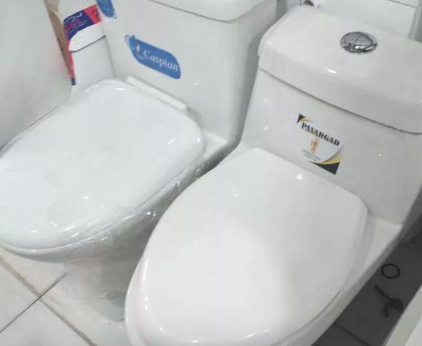 توالت فرنگی شوتینگ دار مدل رویال