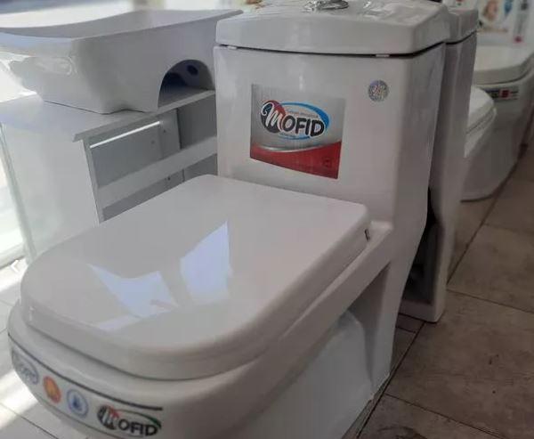 توالت فرنگی بیده دار خود شور