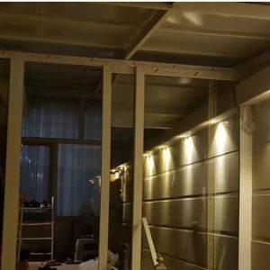 پنجره ۲و۳جدارهUPVC،آلومینیوم،توری پلیسه توری ثابت