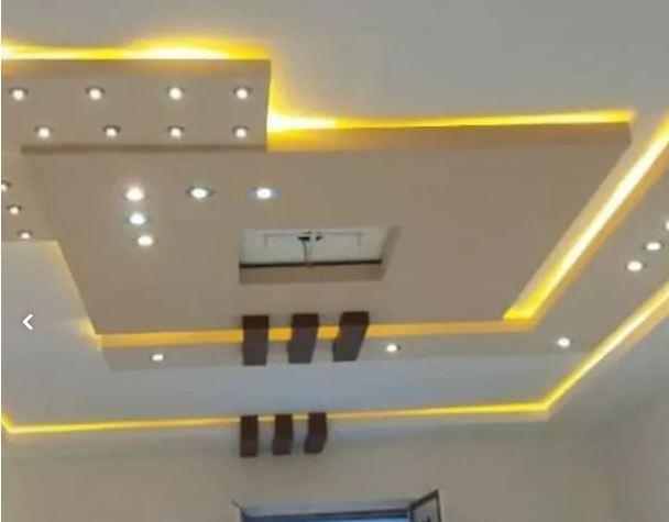 سقف کشسان (باریسول) طراحی واجرای کناف