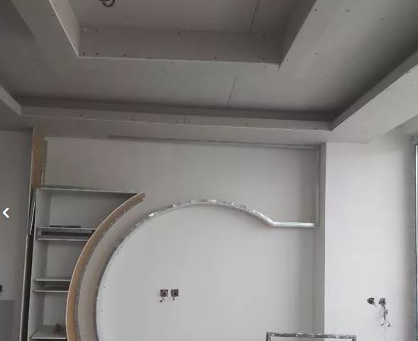 اجرای سقف های کاذب کناف باریسول pvc و….