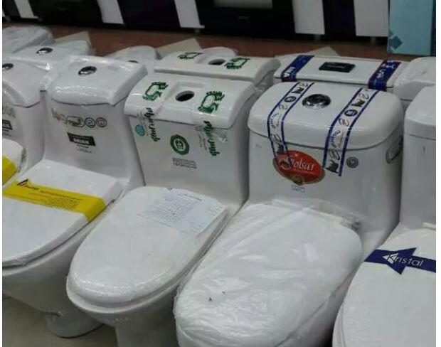 توالت فرنگی سه شوتینگ دو فلاش کیفیت بالا
