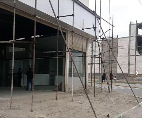 داربست فلزی  نصب در تمام نقاط شهر