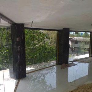 شیشه سکوریت/پارتیشن/دودبند(شرکت مهندسی پرشین)