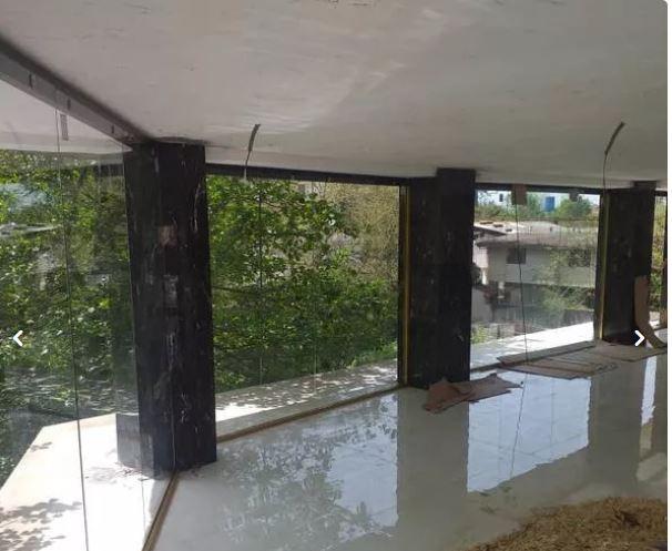شیشه سکوریت پارتیشن دودبند(شرکت مهندسی پرشین)