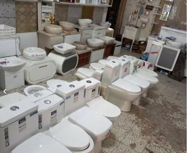 توالت فرنگی خروجی بزرگ