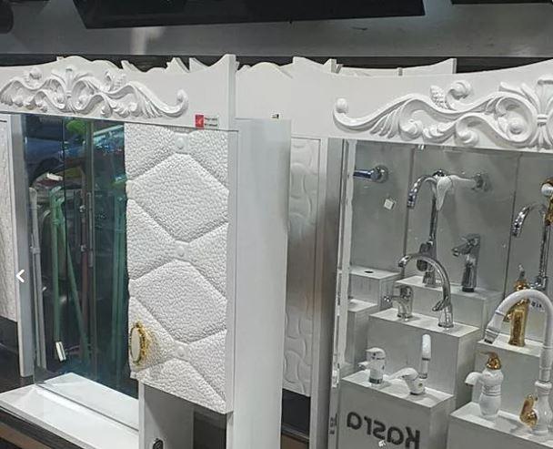 فروش انواع روشویی کابینتی و آینه