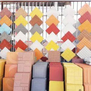 موزائیک/سنگ فرش/کانیو/جدول دورباغچه/موزایک پشت بام